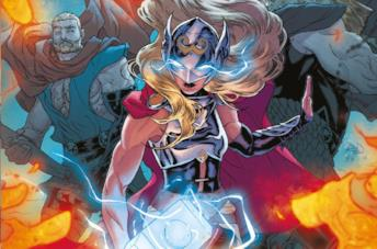 La Potente Thor nei fumetti Marvel