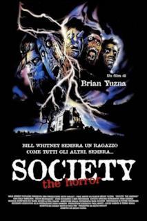 Poster Society - the horror