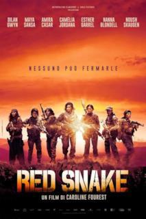 Poster Red Snake