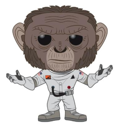 Space Force Marcus the Chimstronaut Pop! Vinyl Figure