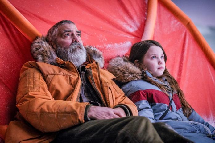 Augustine e Iris nella tenda