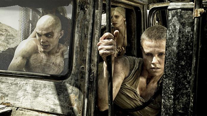 Charlize Theron è Furiosa in Mad Max - Fury Road