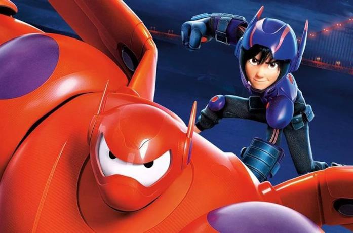 Un'immagine di Baymax e Hiro