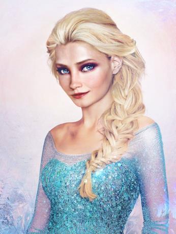 Dal cartoon Disney al mondo reale: Elsa di Frozen