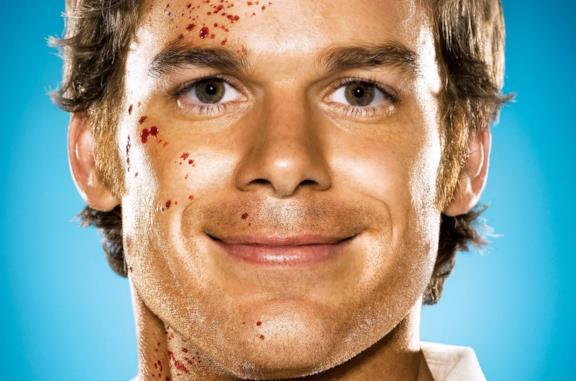 Michael C. Hall nei panni di Dexter