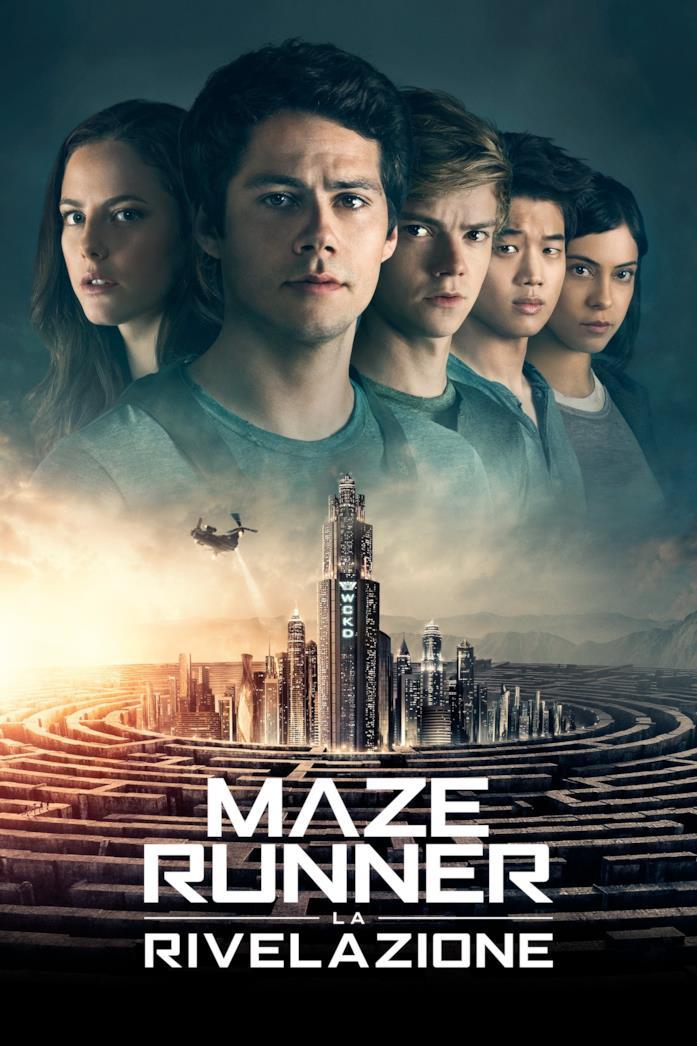MazeRunner – La rivelazione - Poster