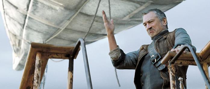 Robert De Niro nei panni del capitano Shakespeare