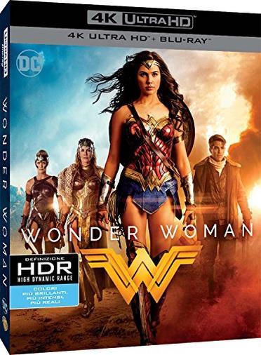 Cofanetto Blu-ray di Wonder Woman
