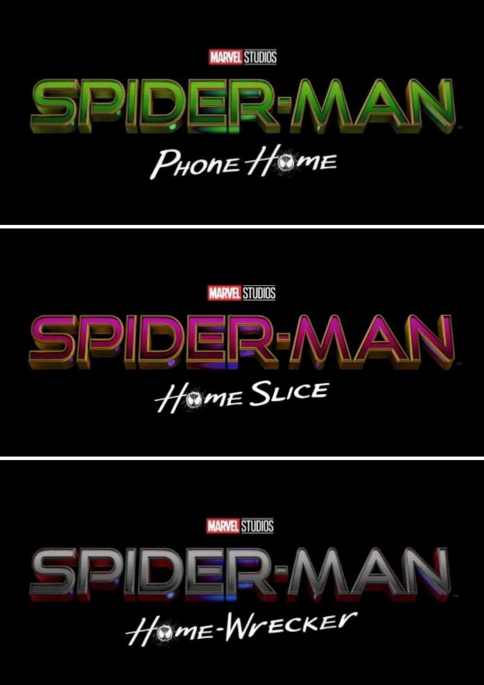 I 3 falsi titoli di Spider-Man 3