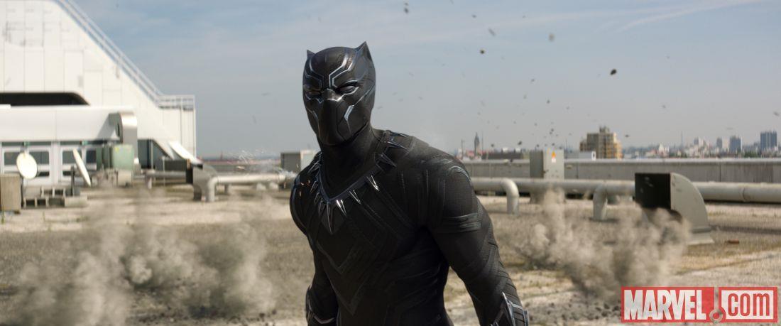 Black Panther in Capitan America: Civil War