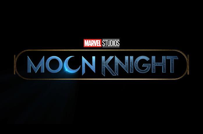 Il logo della serie Moon Knight in arrivo su Disney+