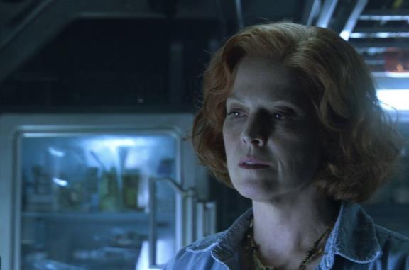 La foto di Sigourney Weaver sul set di Avatar 2 (prima che fosse chiuso)