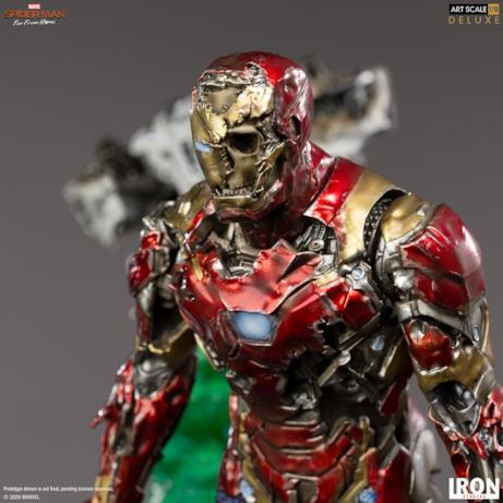 L'armatura distrutta di Iron Man