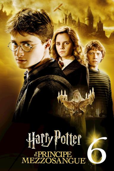 Poster Harry Potter e il principe mezzosangue