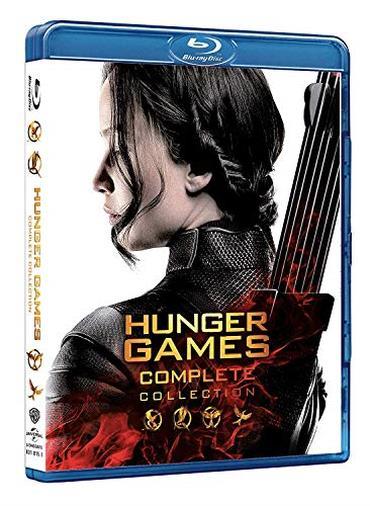Hunger Games, la saga completa in DVD