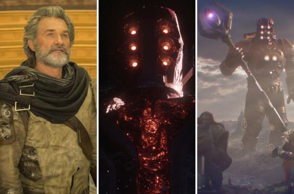 I Celestiali nel MCU: tutto quello che è stato rivelato sugli antichi esseri presenti in Eternals