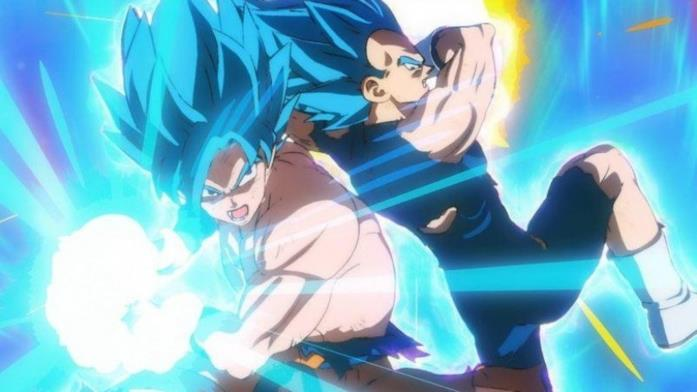 Broly fight