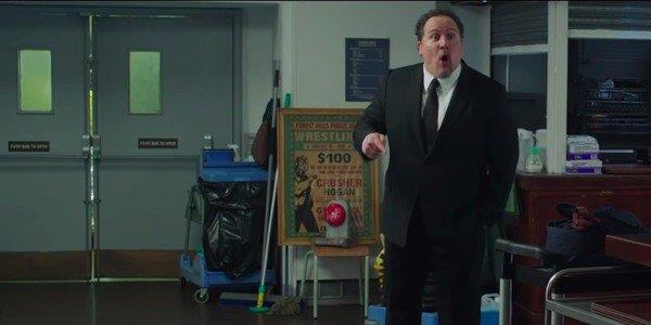 Happy Hogan in una scena di Spider-Man: Far From Home
