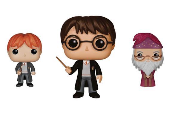 Ron, Harry Potter e Albus Silente Funko Pop