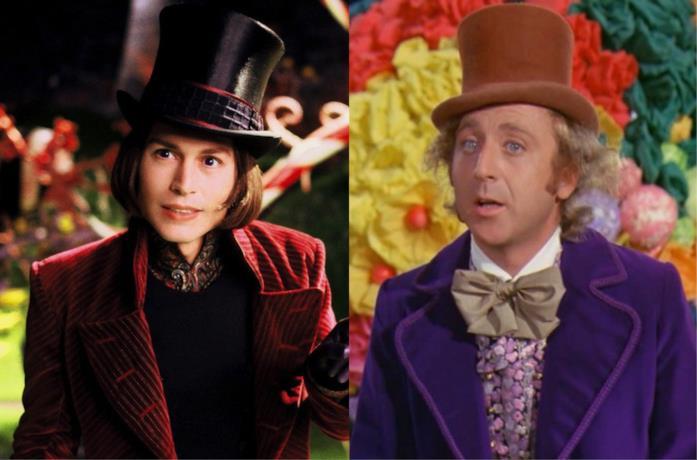 Johnny Depp è Willy Wonka