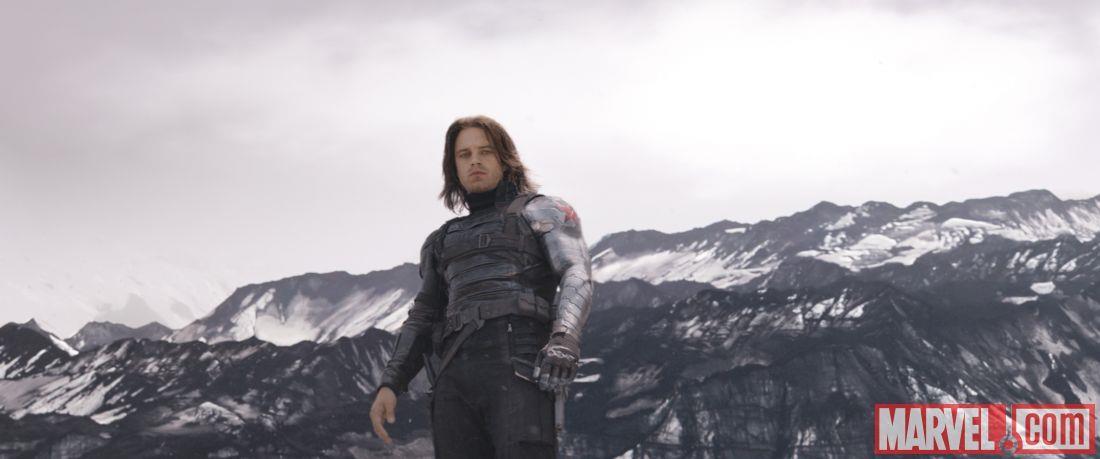 Bucky Barnes in Capitan America: Civil War