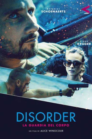 Poster Disorder - La guardia del corpo