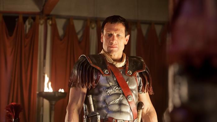 Simon Merrells in Spartacus