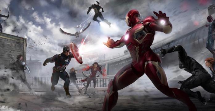 Sharon Carter nel materiale promozionale di Captain America: Civil War