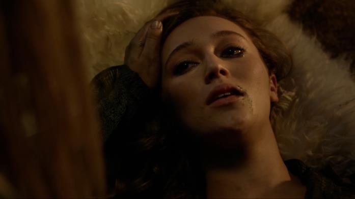 La scena della morte di Lexa