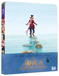 Alice Attraverso Lo Specchio - Steelbook (2 Blu-Ray 3D);Alice Through The Looking Glass