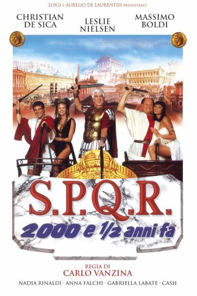 Poster S.P.Q.R. - 2000 e ½ anni fa