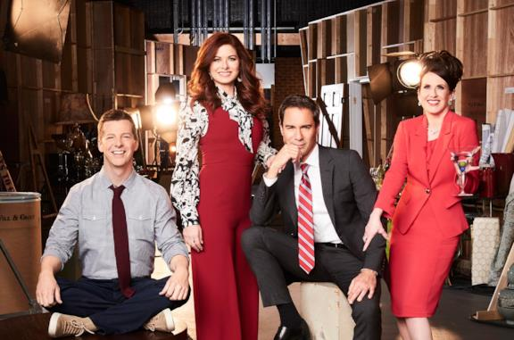 Sean Hayes, Debra Messing, Eric McCormack e Megan Mullally