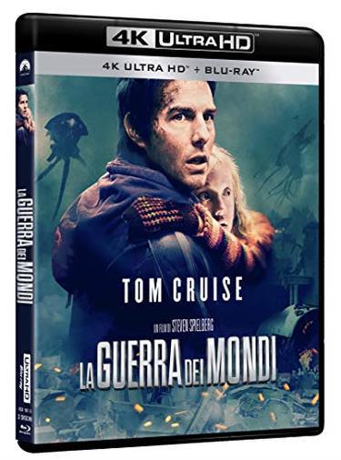 Cofanetto Blu-ray de La Guerra dei Mondi in 4K Ultra HD