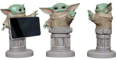 Baby Yoda 8 inch Cable Guy Phone and Controller Holder