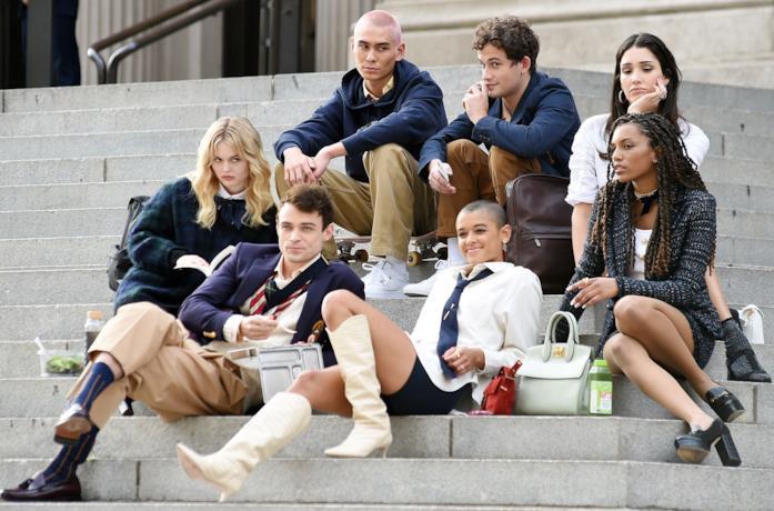 Il cast del nuovo Gossip Girl