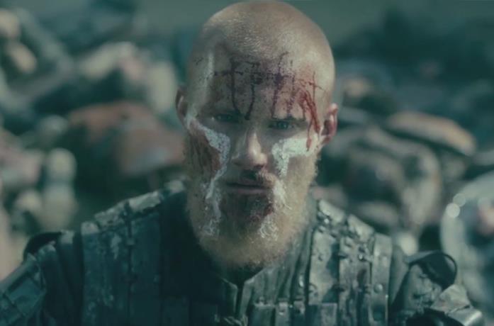 Alexander Ludwig nei panni di Bjorn in Vikings