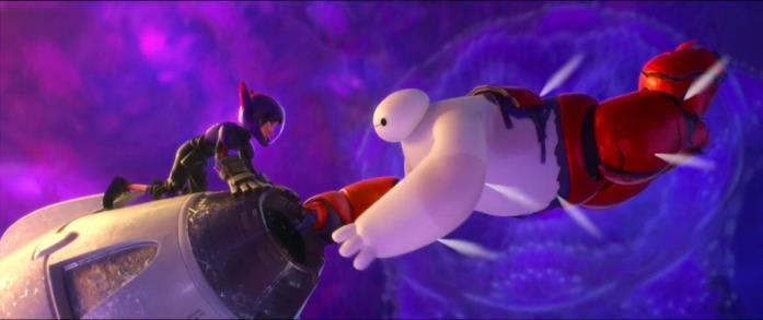 Baymax si sacrifica per salvare il suo amico