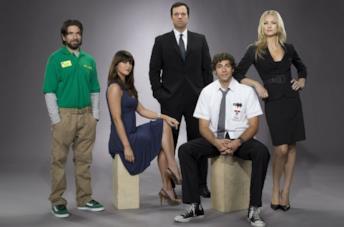 I protagonisti della serie TV Chuck