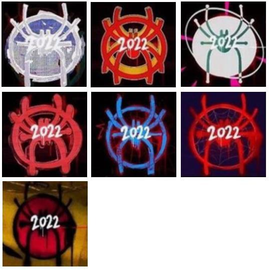 I loghi mostrati nel teaser del sequel di Spider-Man: Un nuovo universo