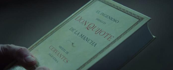 Don Chisciotte è il libro che Goreng decide di portare con sé