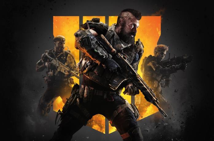 Immagine promozionale di Call Of Duty: Black Ops 4 con alcuni specialisti
