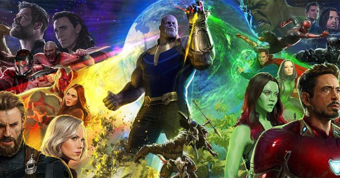 Il poster di Avengers: Infinity War