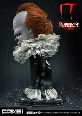 Pennywise serio profilo sinistro