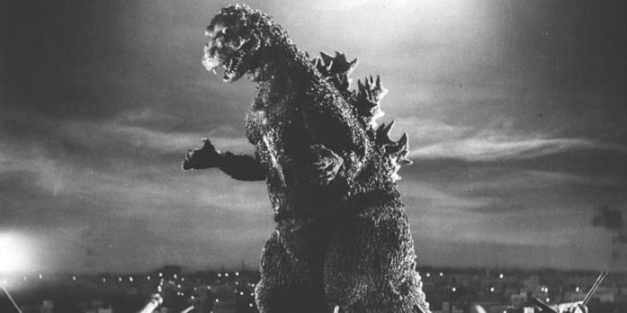 Godzilla in bianco e nero