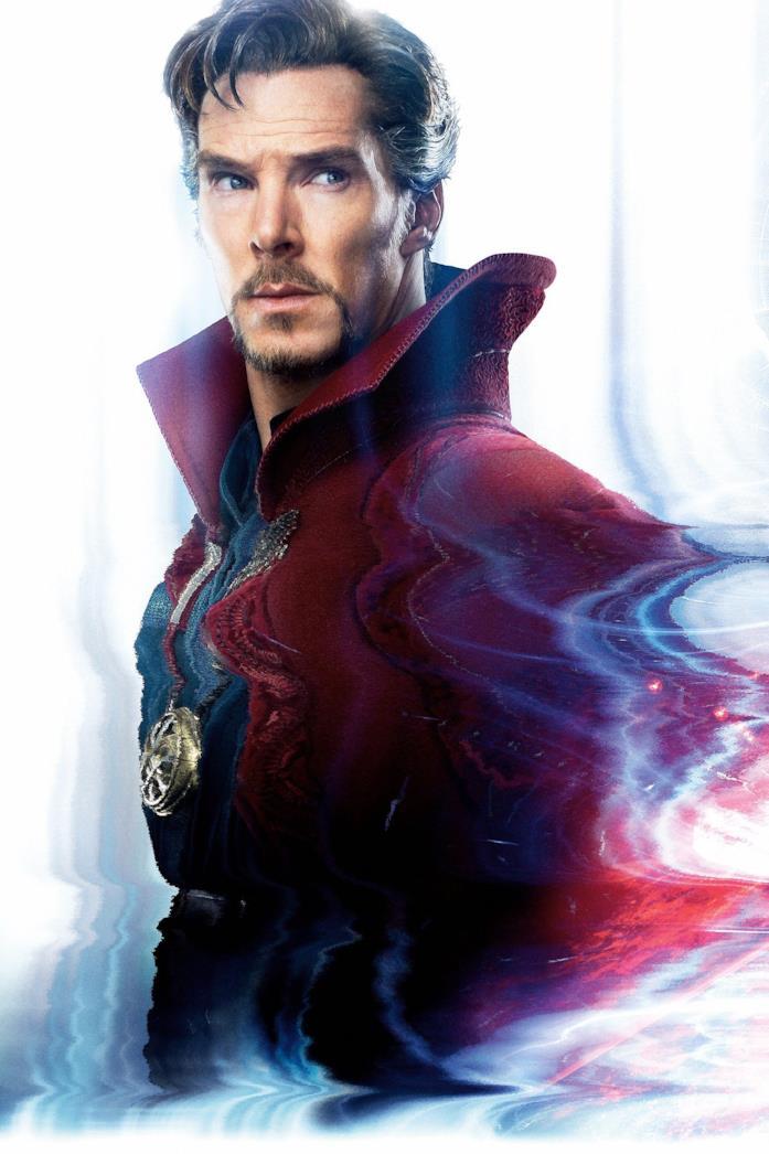 Primo piano di Benedict Cumberbatch