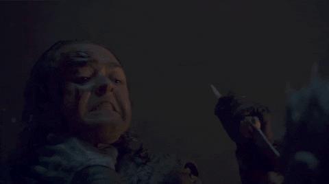 Maisie Williams in Game of Thrones 8x03