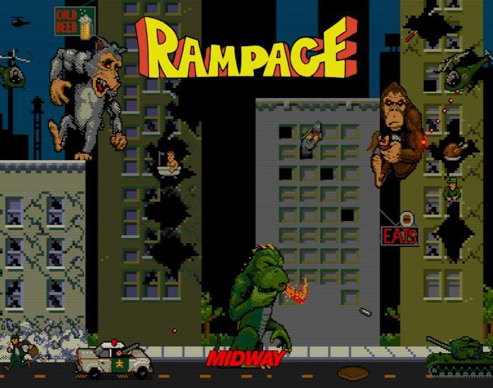 Rampage videogioco