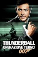 Poster Agente 007 - Thunderball - Operazione tuono