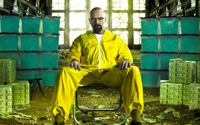 Un'immagine di Walter White in Breaking Bad