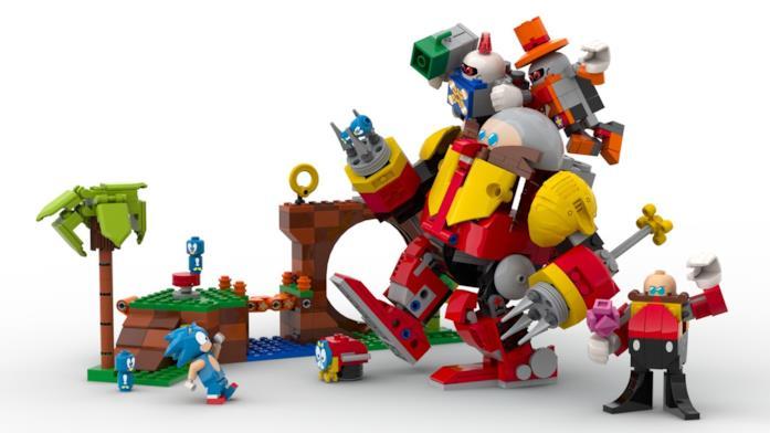 Sonic Sega Lego